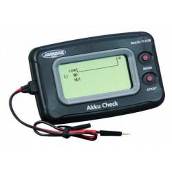 Jamara Akku Check per controllo batterie con schermo LCD (art. 170136)