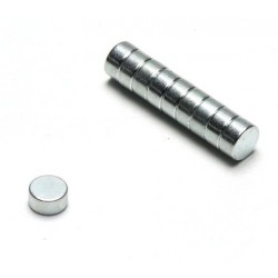 Pichler Magneti Diametro 6mm Spessore 3mm 10 pezzi (art. C4742)