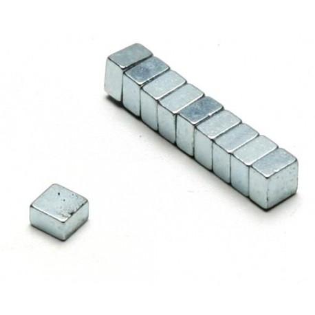 Pichler Magneti a sezione Quadrata 5x5x3mm 10 pezzi (art. C5987)