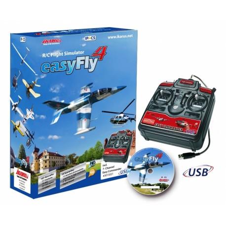 Jamara Simulatore di volo Easy Fly 4 Starter set (art. 065160)