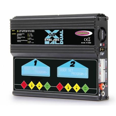 Jamara Caricabatterie X-Peak Dual Bal 12/220V (art. 153062)