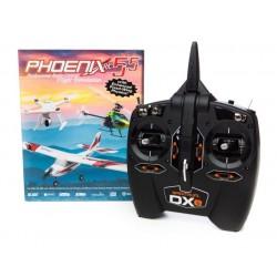 Phoenix Simulatore Phoenix R/C 5.5 con Radio DXe (art. RTM55R1000)