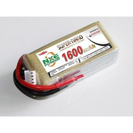 Aviotiger Batteria Li-po 11,1V 1600mAh 30C 3S (art. 6609NXE)