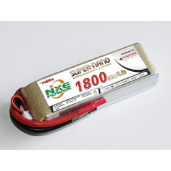 Aviotiger Batteria Li-po 11,1V 1800mAh 30C 3S (art. 6611NXE)