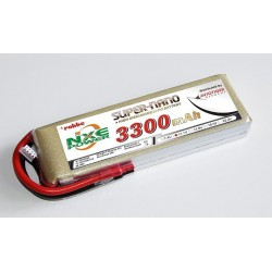 Aviotiger Batteria Li-po 11,1V 3300mAh 35C 3S (art. 6620NXE)