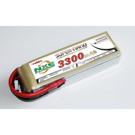 Aviotiger Batteria Li-po 14,8V 3300mAh 35C 4S (art. 6625NXE)