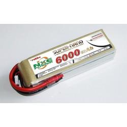 Aviotiger Batteria Li-po 14,8V 6000mAh 30C 4S (art. 6647NXE)
