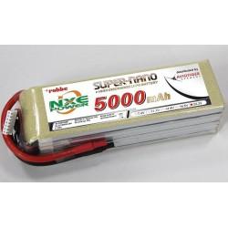 Aviotiger Batteria Li-po 22,2V 5000mAh 35C 6S (art. 6640NXE)