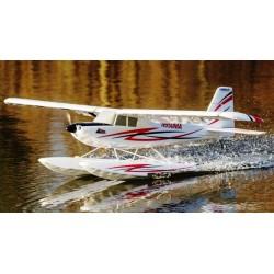 E-flite Aeromodello Timber BNF Basic con galleggianti (EFL5250)