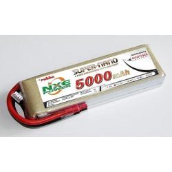 Aviotiger Batteria Li-po 11,1V 5000mAh 30C 3S (art. 6637NXE)