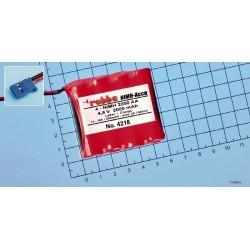 Aviotiger Batteria per Ricevente 4,8V 4NiMH 2000 Piatta (art. 4218)