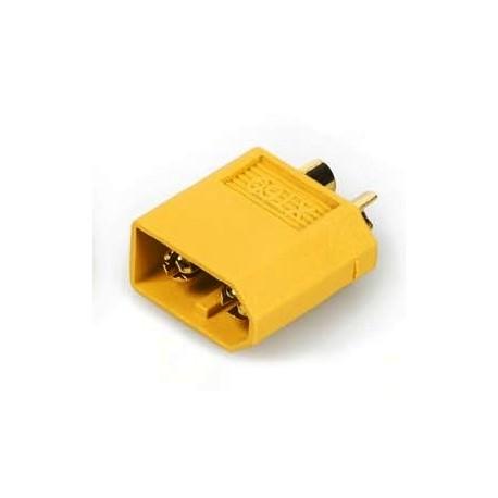 Aviotiger Connettore Batteria XT60 Maschio dorato (art. 85671000)