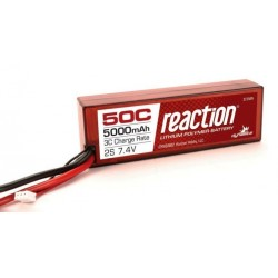 Dynamite Batteria Li-po 7,4V 5000mAh 2S 50C Hardcase (DYNB3802EC