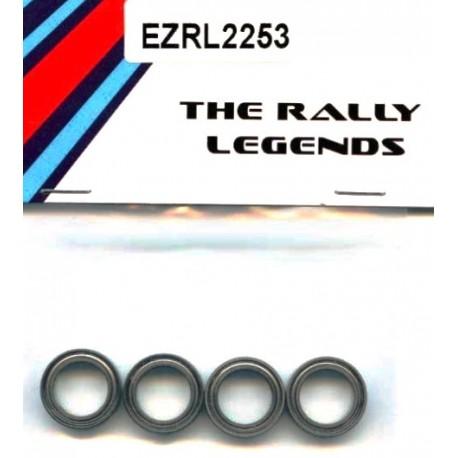 EZpower Cuscinetti a sfera 10x15x4mm 4 pezzi (art. EZRL2253)