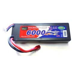 Batteria Li-po 7,4V 6000mAh 50C Deans (art. BAL6000)