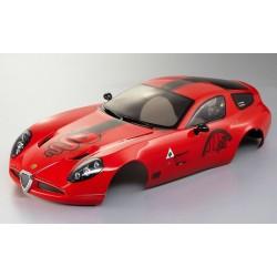 Carrozzeria Alfa Romeo TZ3 Corsa 190mm verniciata (art. KB48249)
