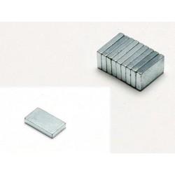 Pichler Magneti a sezione Quadrata 12x7x2mm 10 pezzi (art. C5988)