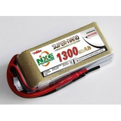Aviotiger Batteria Li-po 7,4V 1300mAh 30C 2S (art. 6606NXE)