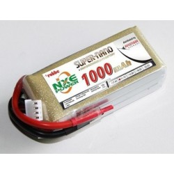 Aviotiger Batteria Li-po 11,1V 1000mAh 30C 3S (art. 6605NXE)