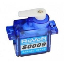 Robbe Micro servocomando analogico Rovor S0009 9 grammi (art. S0009)